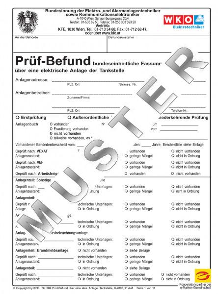 Anlagendokumentation Prüfung: Tankstelle
