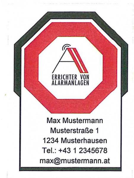 AA-Kleber Adresse