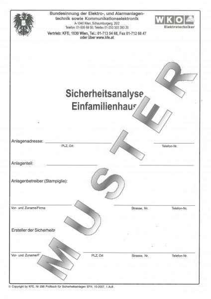 Sicherheits-Analyse EFH (Einfamilienhaus)
